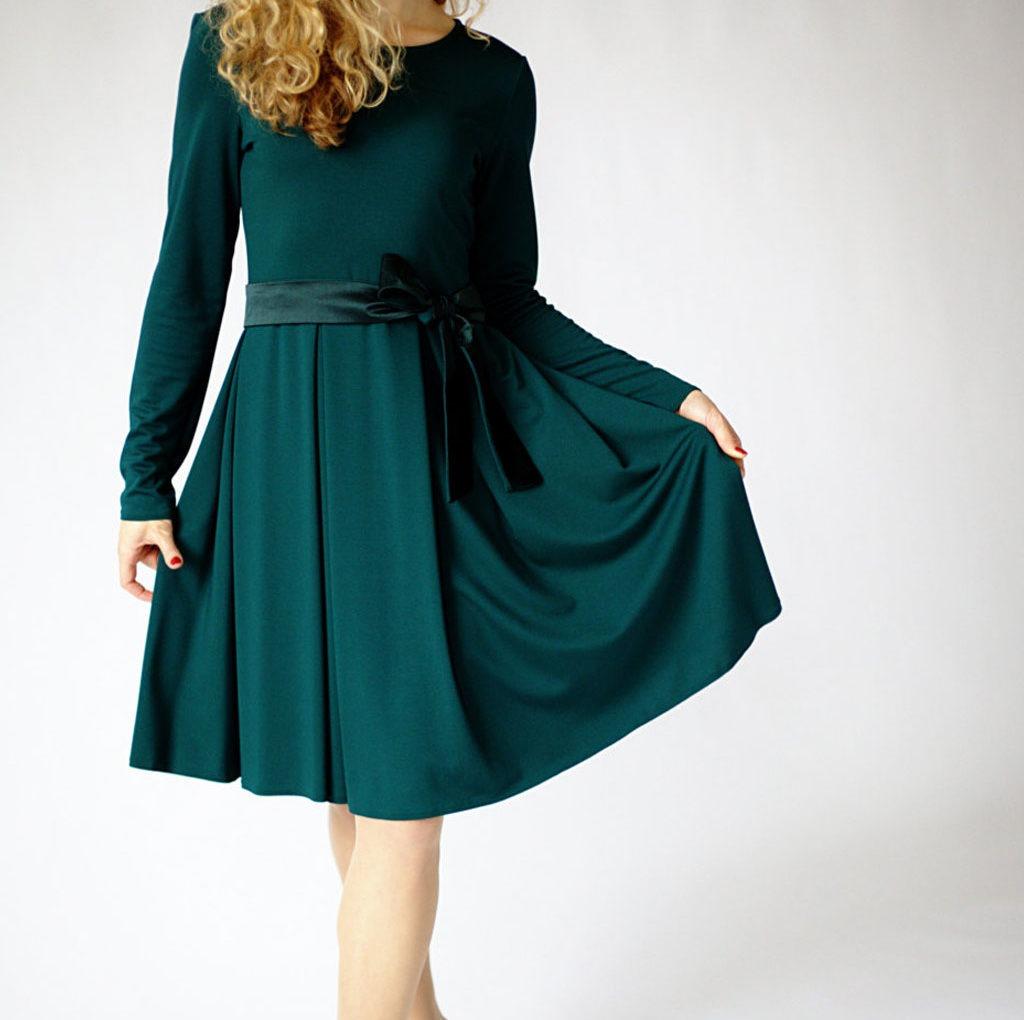 Rensning af kjole
